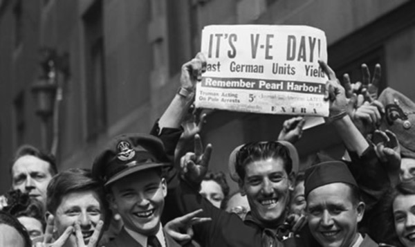 Ve day newspaper promo 3jpg